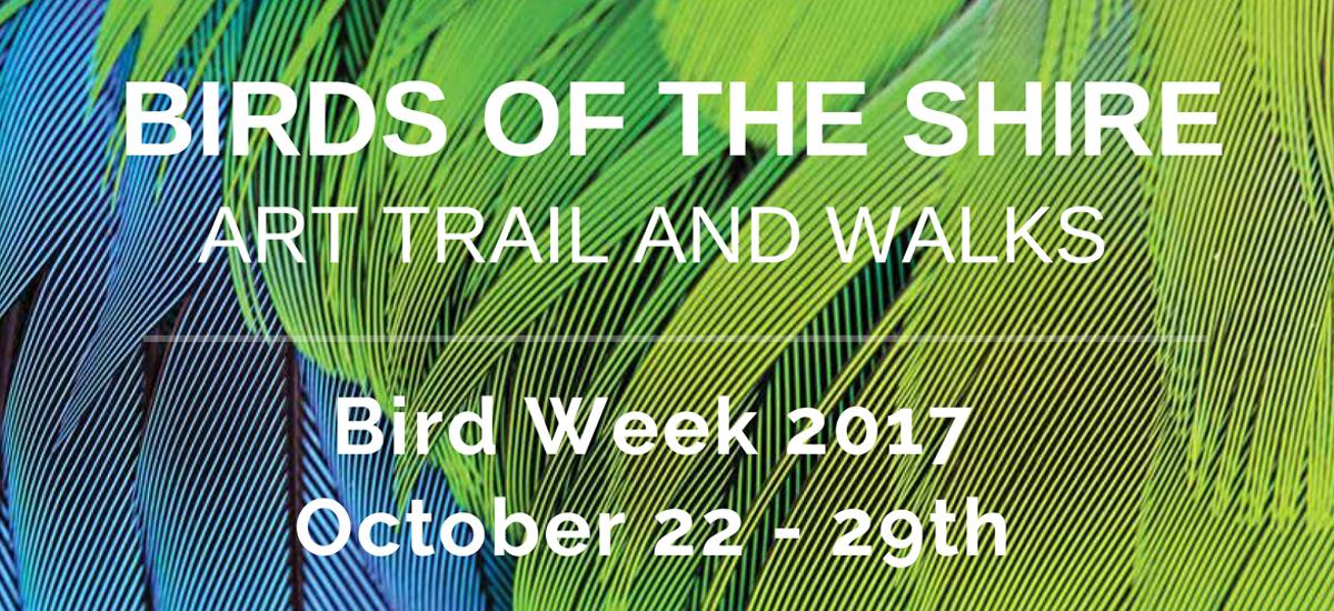 Celebrating National Bird Week 2017